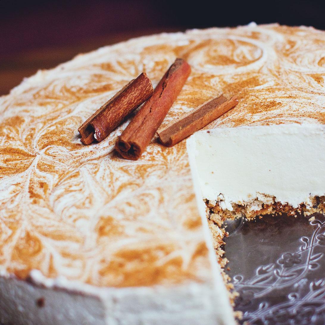 Cheesecake alla cannella