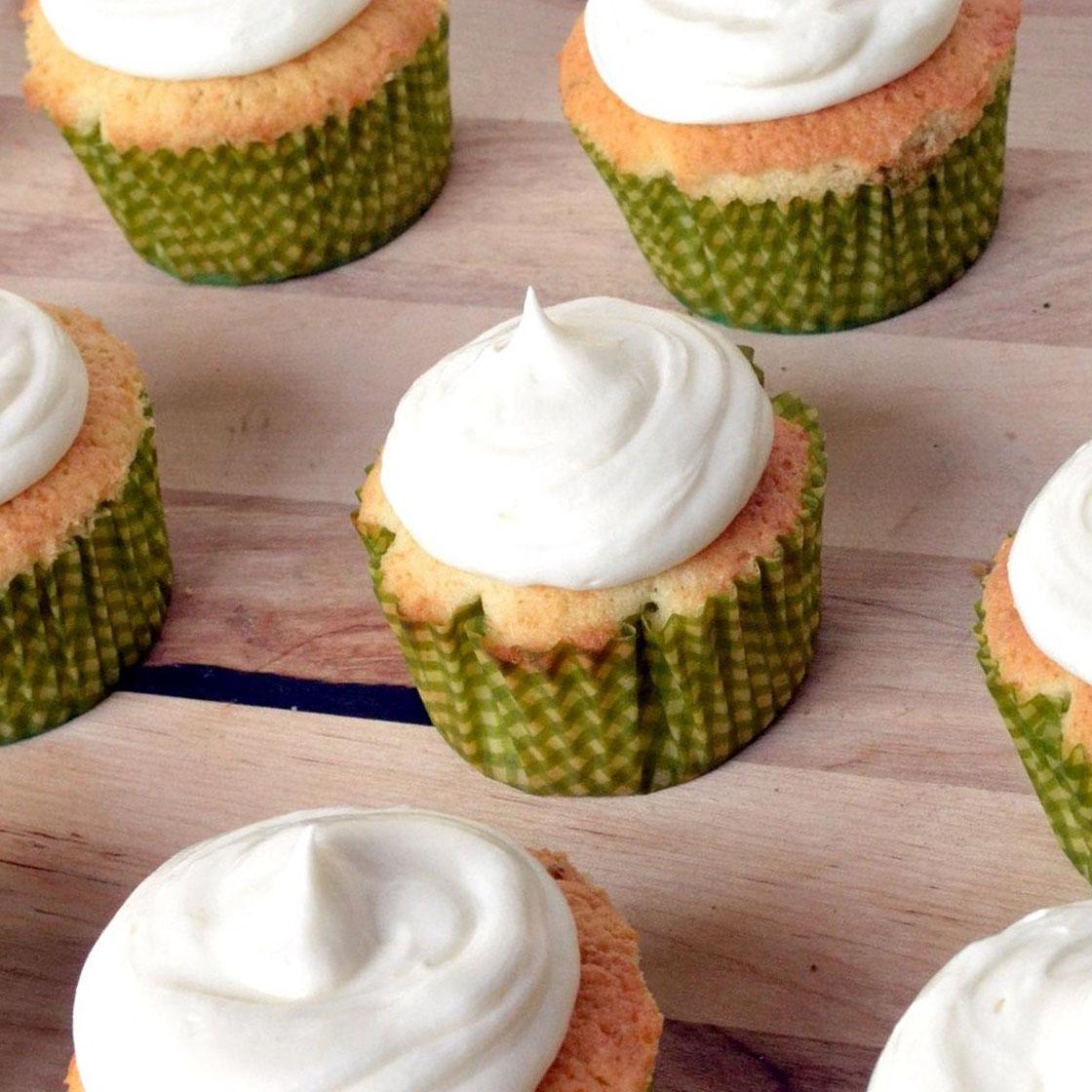 Cupcake leggeri all'olio