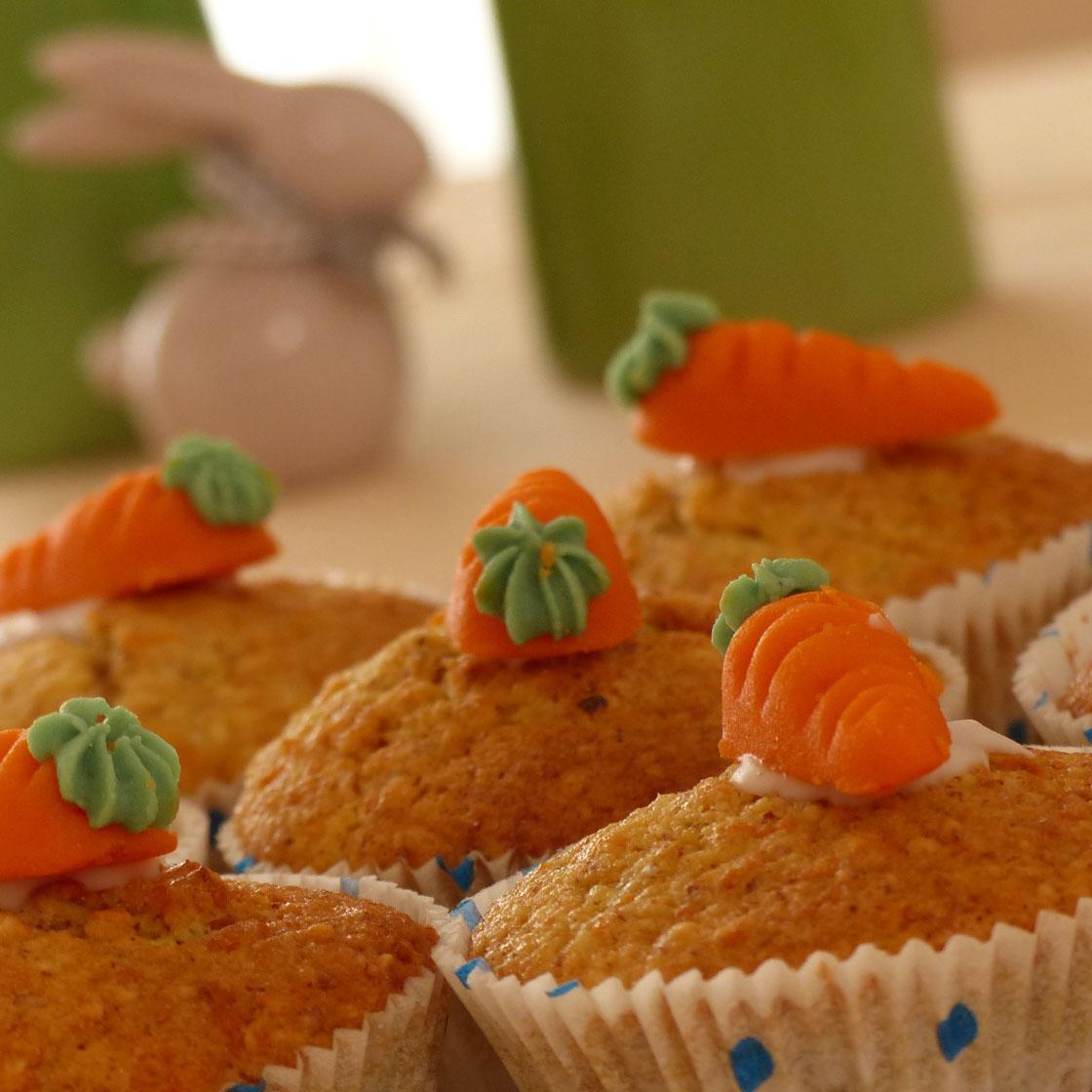 Tortine di carote con sorpresa