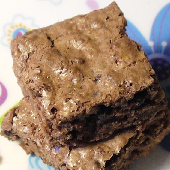 Brownies con le noci