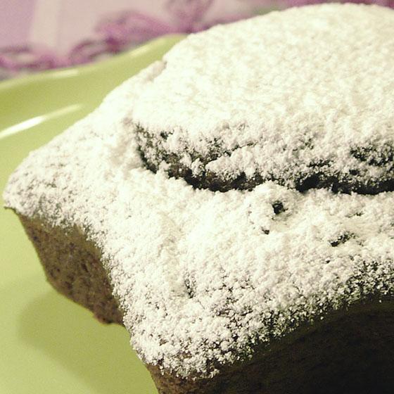 Torta al cacao per vegani e celiaci