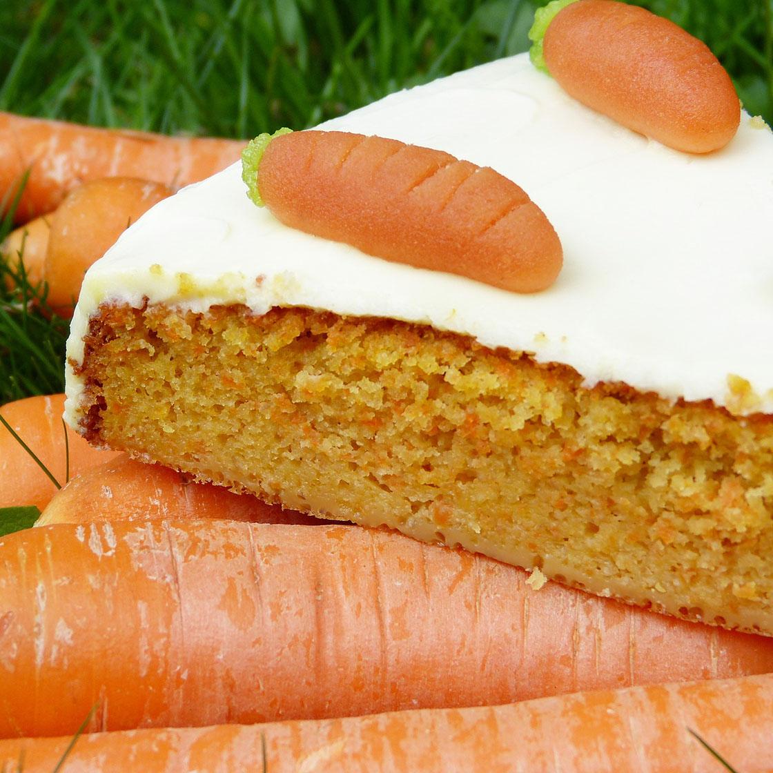 Torta di carote dietetica