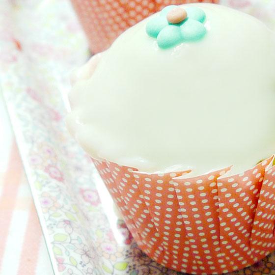 Cupcake light al sambuco