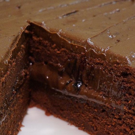Crazy cake al cioccolato