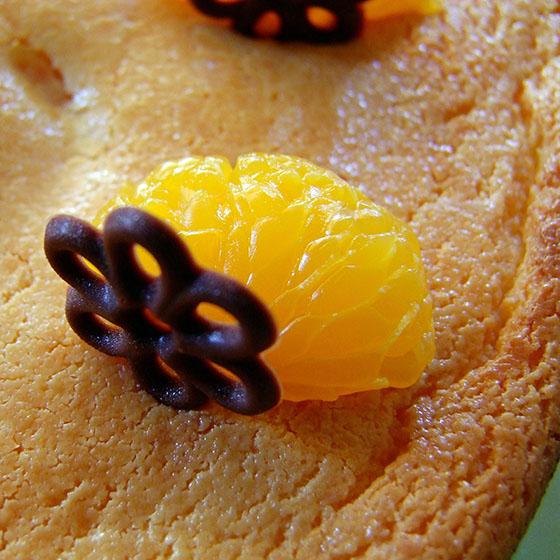 Crazy cake al mandarino