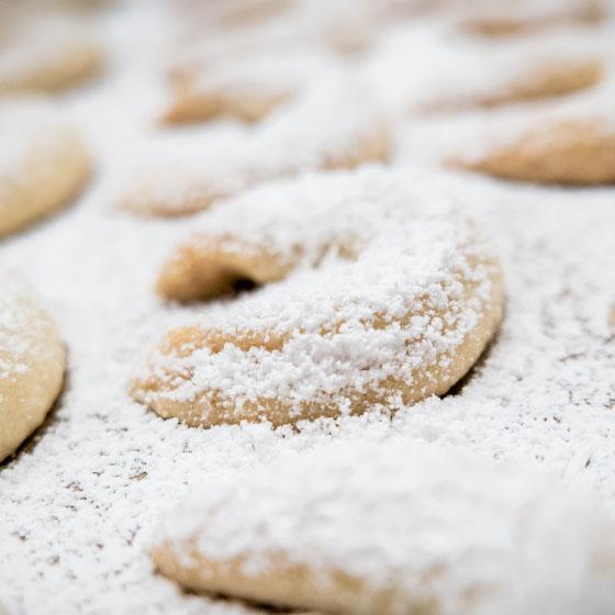Cornetti alla vaniglia (VANILLEKIPFERL)
