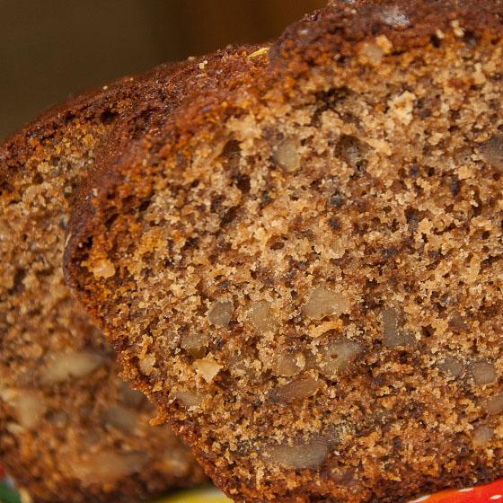 Cake NoTutto alle prugne e noci