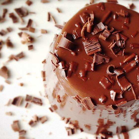 Bavaresine al cioccolato