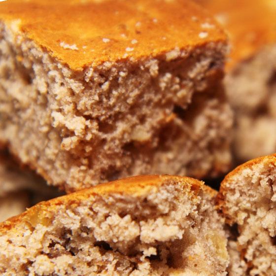 Torta antica di farina di castagne