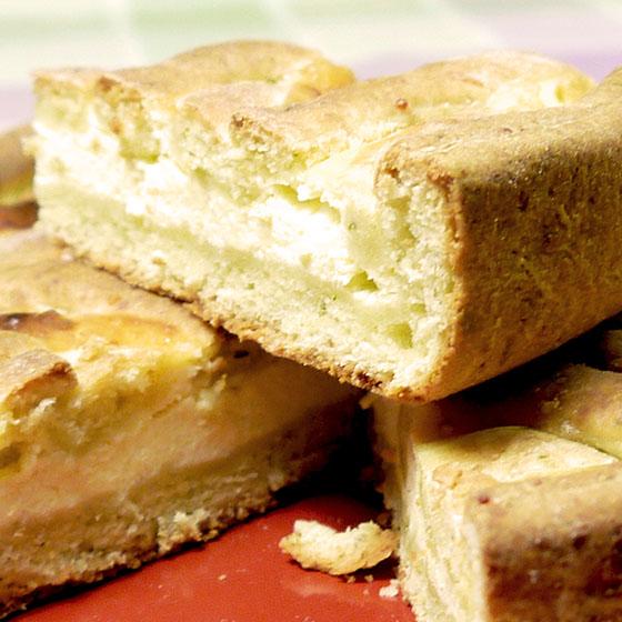 Torta salata delicata
