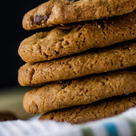 Cookies Vegan alla zucca