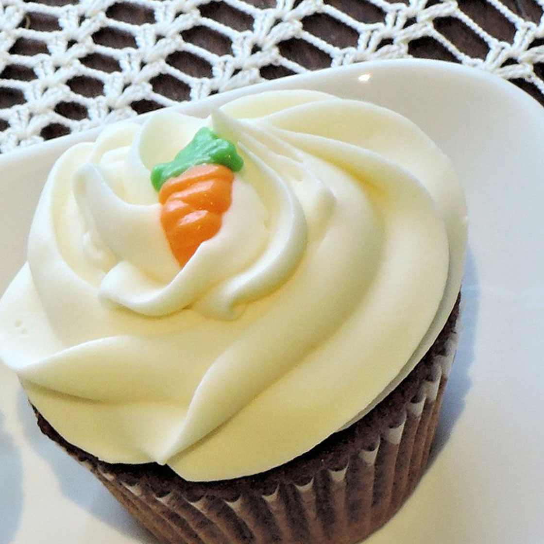 Cupcake alle carote e cioccolato
