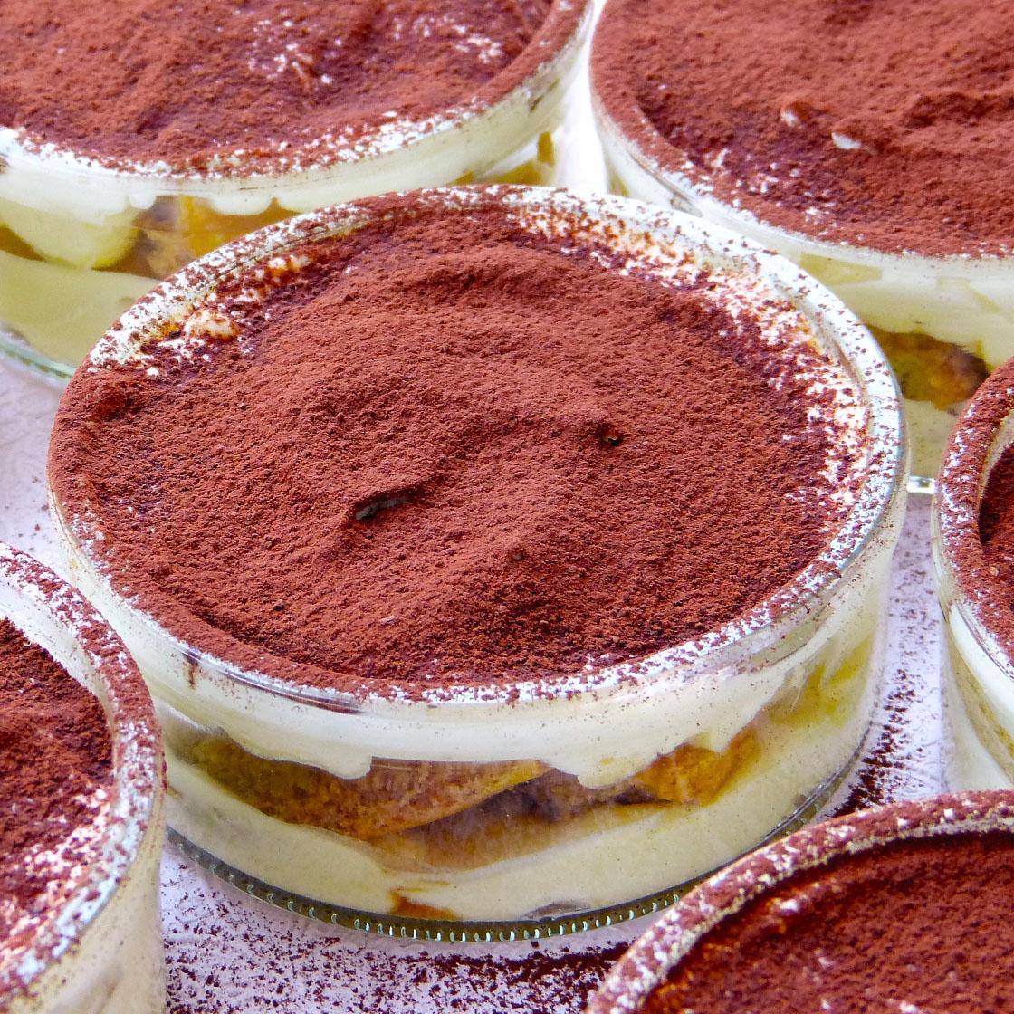 Ricetta Tiramisu Allo Yogurt Greco.Tiramisu Allo Yogurt Greco E Ricotta Cucina Amore Mio