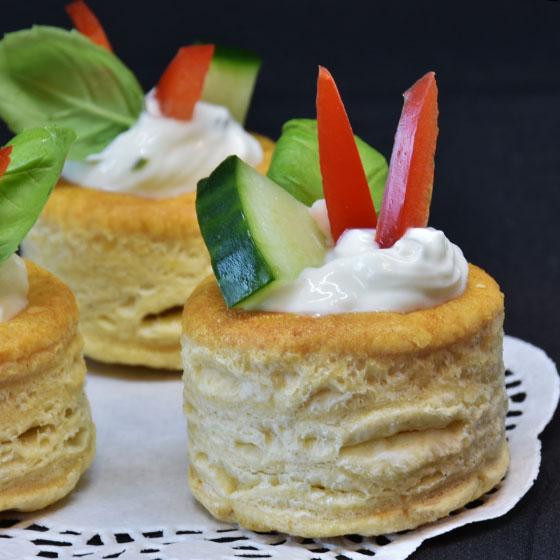 Pasta sfoglia vegana e light