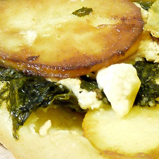 Tart Tatin salata con patate