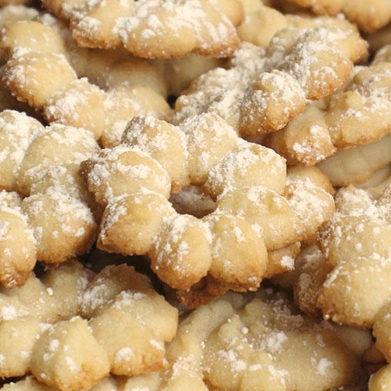 """Biscotti """"olio&vaniglia"""" per sparabiscotti"""