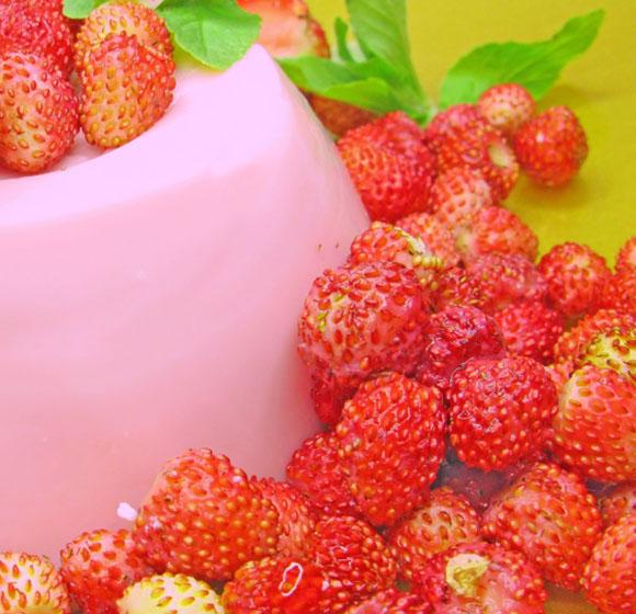 Budino di fragole&fragoline