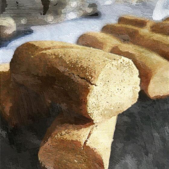 Ghribia lablabi con farina di ceci