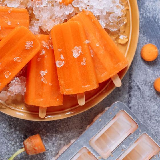 Ghiaccioli alla carota
