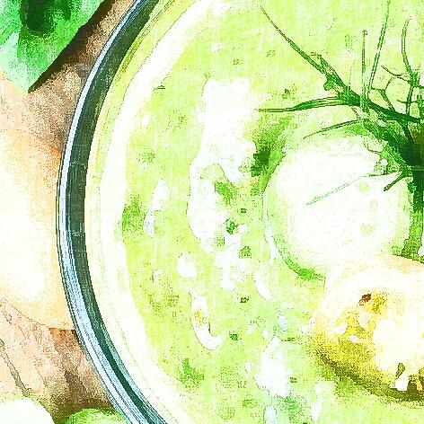 Gaspacho verde