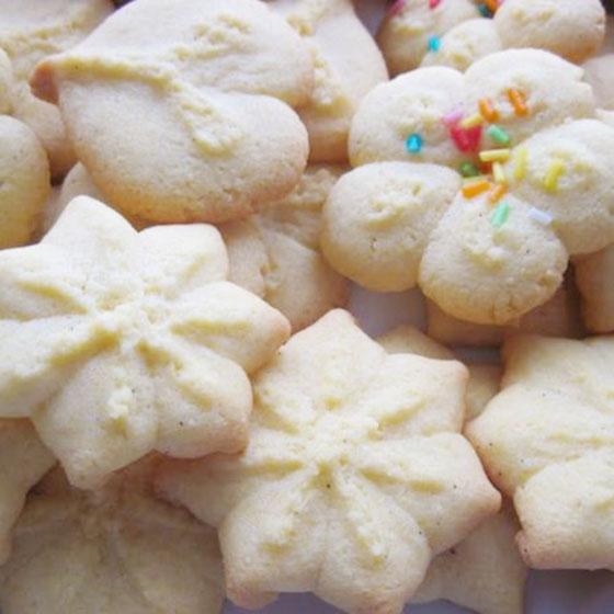 Biscotti al cocco per sparabiscotti