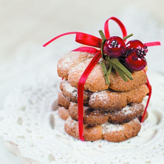 Biscotti al pan di zenzero per sparabiscotti