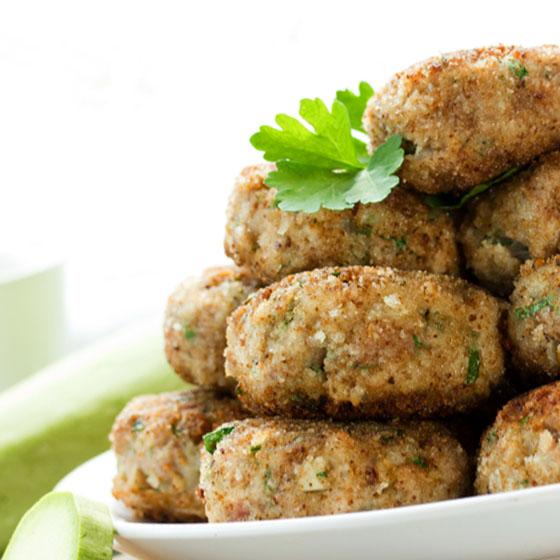 Polpette di zucchine, patate e lenticchie di M. Bianchi