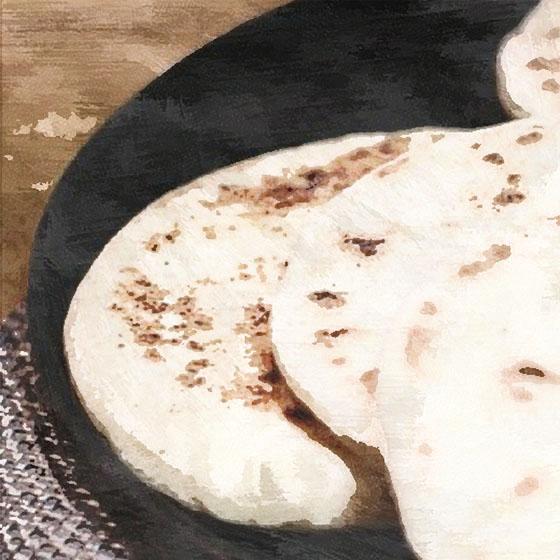 Pane marocchino in padella