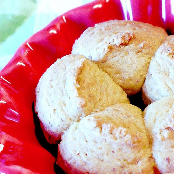 Biscotti friabili per sparabiscotti e non